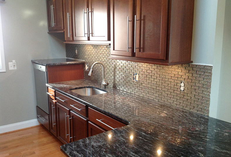 finished kitchen remodel & design in a Wayne home