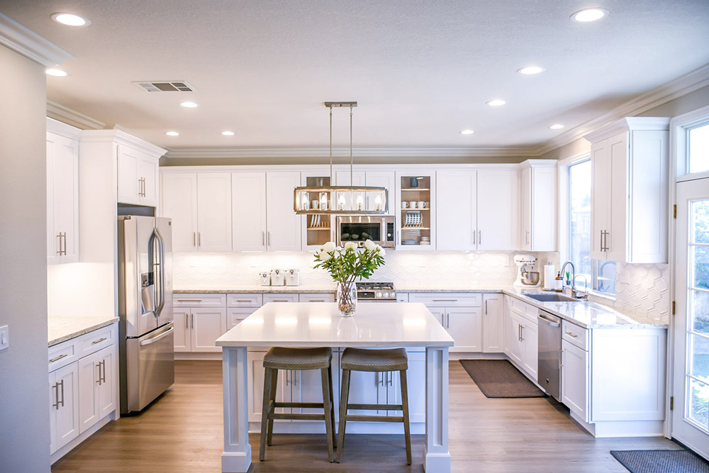 modern kitchen renovation in Wayne